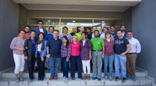 Estudiantes del Magíster vivieron su etapa presencial en la UdeC